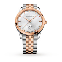 Louis Erard Heritage Quartz Day Date Mens Watch