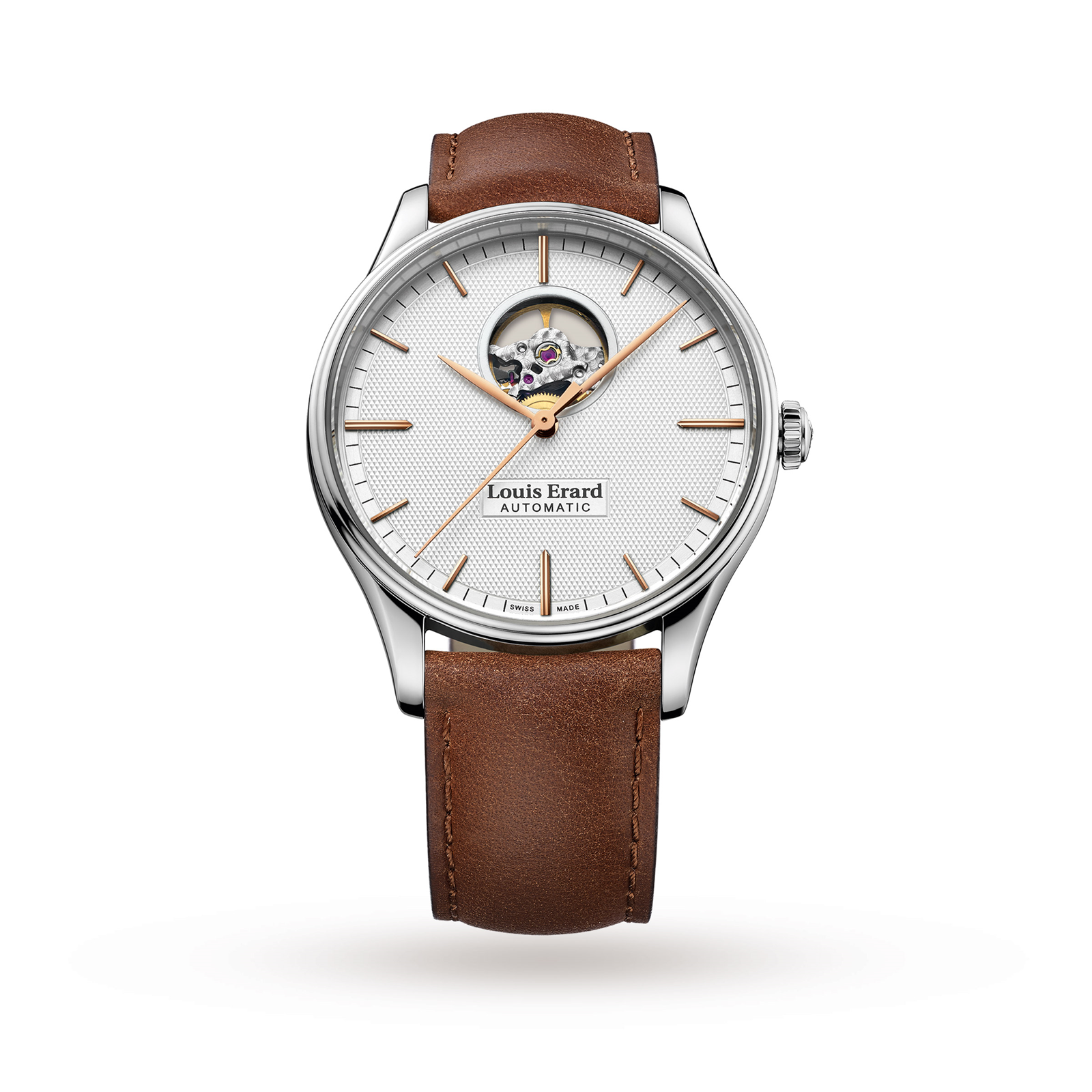 Louis Erard Heritage Automatic Mens Watch