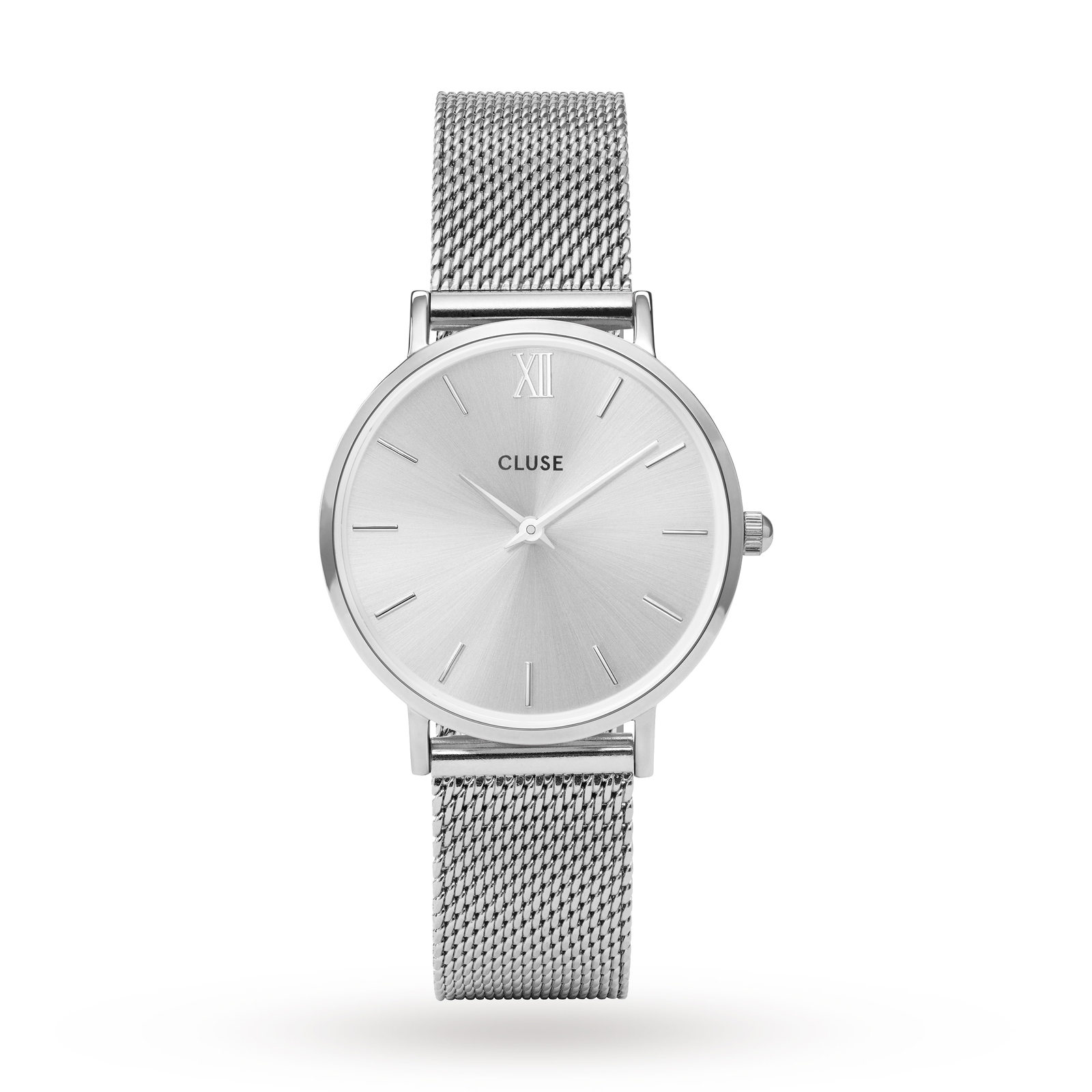 bershka accessories be women en dial watch with metal watches mesh belgium