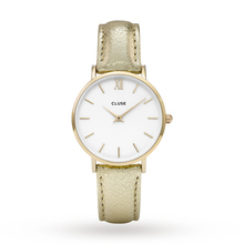 Ladies Cluse Minuit Gold Watch CL30036