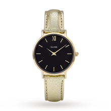 Ladies Cluse Minuit Gold Watch CL30037