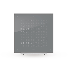 QLOCKTWO Touch Table Clock - Early Grey Tea