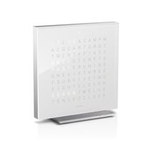 QLOCKTWO Touch Acrylic Table Clock -  Vanilla Sugar