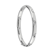 Damiani 18ct White Gold 0.39cttw Diamond D-Icon Bracelet