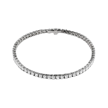 Damiani 18ct White Gold 4.13cttw Diamond Sirena Bracelet