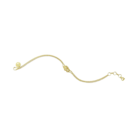 Di Modolo Linked By Love 18ct Yellow Gold Diamond Bracelet
