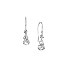 Di Modolo Silver 0.31cttw Diamond Pave Dangle Drop Earrings