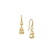 Di Modolo Linked By Love 18ct Yellow Gold 0.41cttw Diamond Drop Earrings