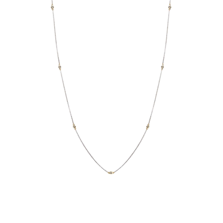 Di Modolo Diamante 18ct Gold and Silver Necklace