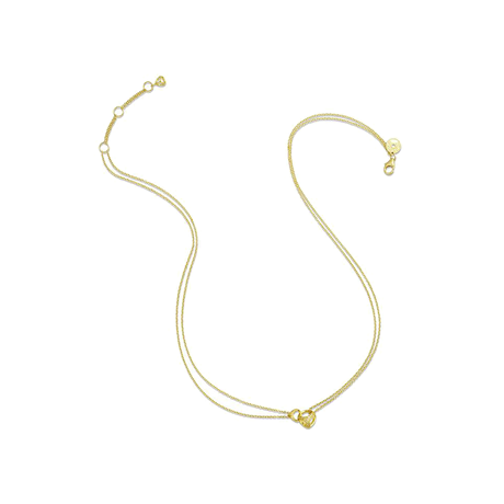 Di Modolo Linked By Love 18ct Yellow Gold Diamond Set Necklace