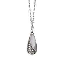 Di Modolo Ricamo Silver 0.16cttw Diamond Pace Necklace