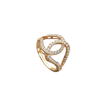 For Her - Di Modolo Fiamma 18ct Yellow Gold and 0.56cttw Diamond Ring - Ring Size M - R415-2Y