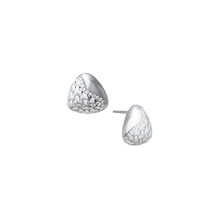 Di Modolo Ricamo Silver and Diamond Stud Earrings