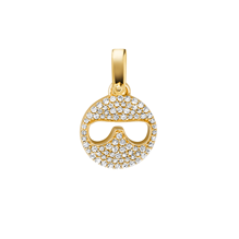 Michael Kors Custom Kors 14ct Gold Plated Emoji Charm