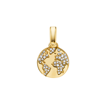 Michael Kors Custom Kors 14ct Gold Plated Globe Charm