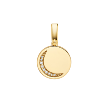 Michael Kors Custom Kors 14ct Gold Plated Moon Charm