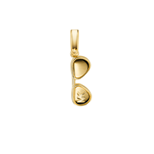 Michael Kors Custom Kors 14ct Gold Plated Aviator Charm
