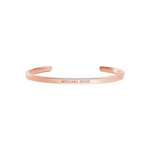 Michael Kors Custom Kors 14ct Rose Gold Plated Nest Cuff Size M