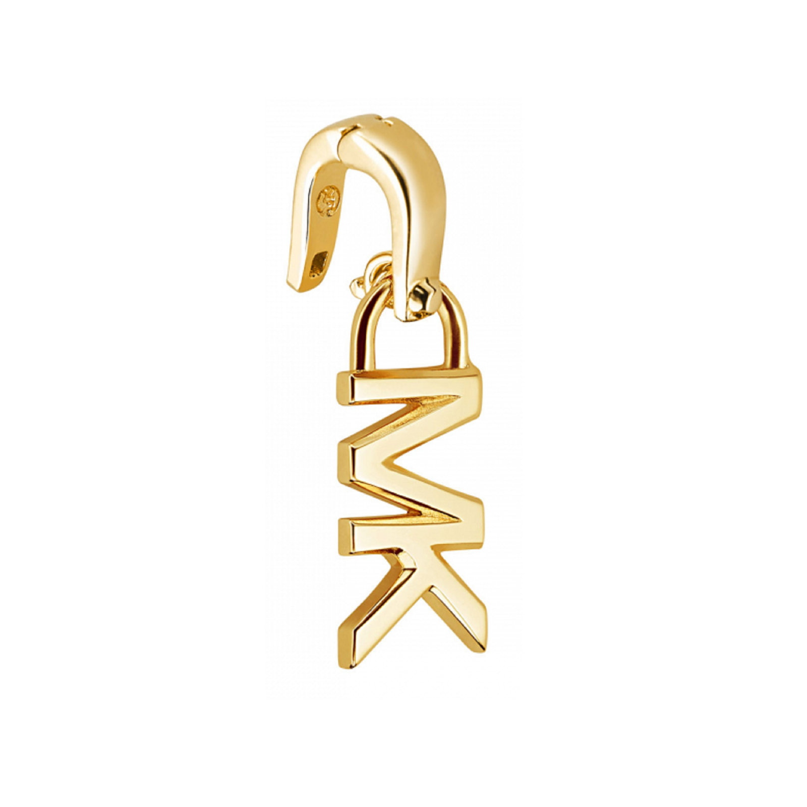 Michael Kors Custom Kors 14ct Gold Plated Logo Charm