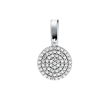 For Her - Michael Kors Custom Kors Sterling Silver Pave Charm - MKC1069AN040
