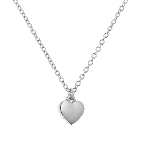Ted Baker Jewellery Ladies PVD Silver Plated Hara Tiny Heart Pendant Necklace