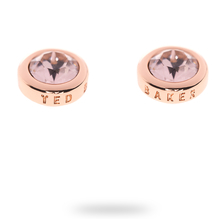 Ted Baker PVD Rose Plating Sinaa Crystal Stud Earring