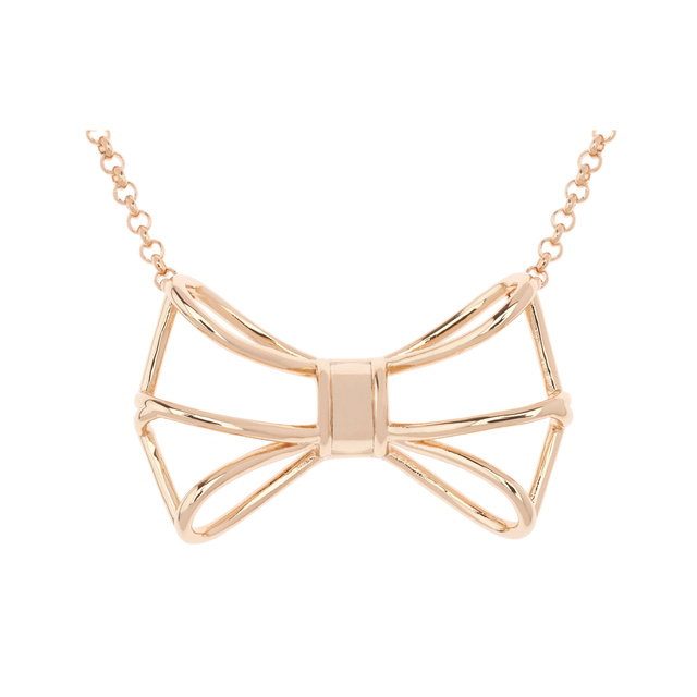 Ted baker jewellery giaani geometric bow pendant necklaces ted baker jewellery giaani geometric bow pendant aloadofball Images