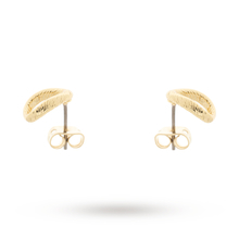 Ted Baker Tiana Yellow Gold Plated Text Hooper Earrings