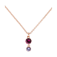 Ted Baker Jewellery Ladies' Rose Gold Plated Chiione Crystal Crown Necklace