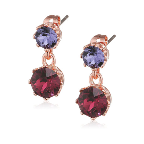 Ted Baker Jewellery Ladies Connolee Crystal Crown Drop Earrings