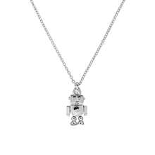 Ted Baker Silver Plated Bionic Robot Pendant