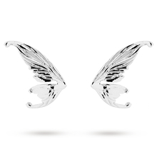 Ted Baker Silver Plated Cobweb Fairy Wing Stud Earrings
