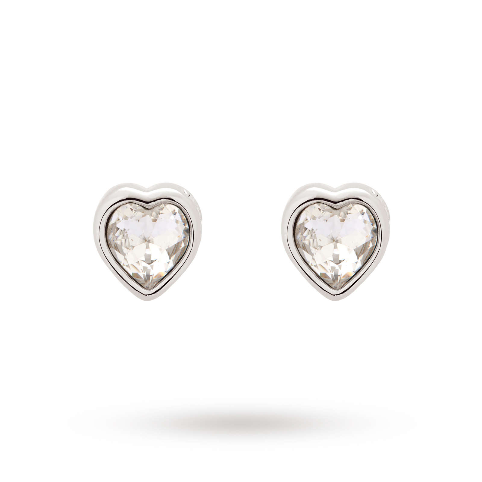 Crystal Heart Earrings Macy S Children 14k Gold Earrings