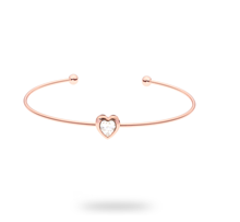 Ted Baker Rose Crystal Heart Ultra Fine Cuff