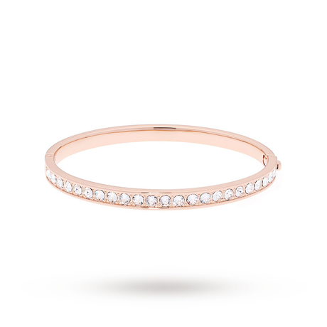For Her - Ted Baker Clemara Hinge Crystal Rose Bangle - TBJ1567-24-02