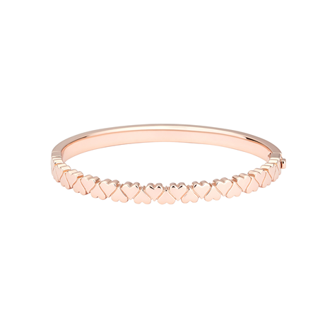 Ted Baker Clemisha Rose Gold Hinged Bangle