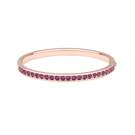 Ted Baker Clemara Rose Gold & Ruby Bangle