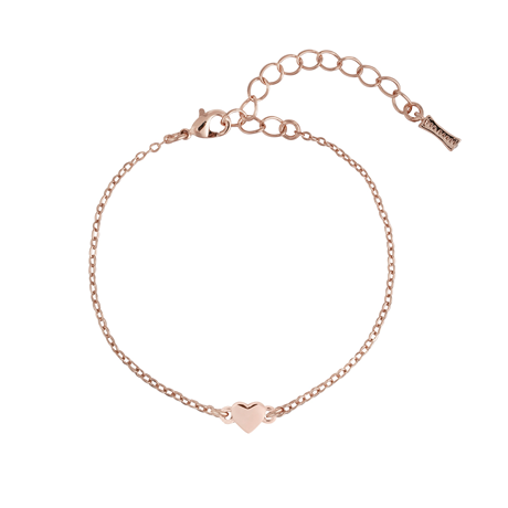 Ted Baker Rose Gold Coloured Tiny Heart Bracelet