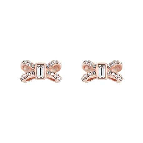 Ted Baker Crystal Bow Stud Earrings