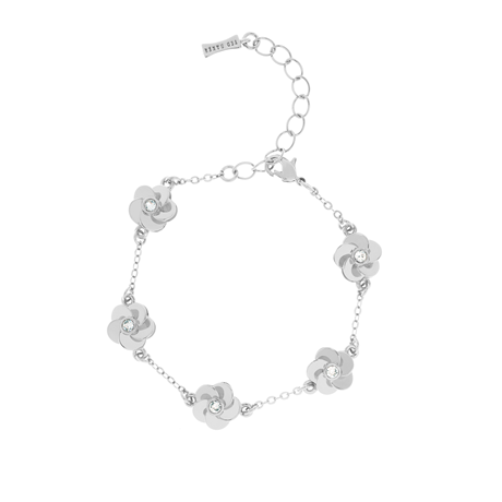 Ted Baker Panele Polished Flower Bracelet