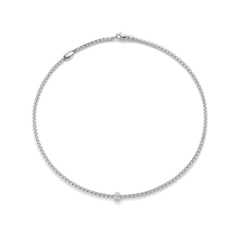 Fope 18ct White Gold Pave Eka Chain