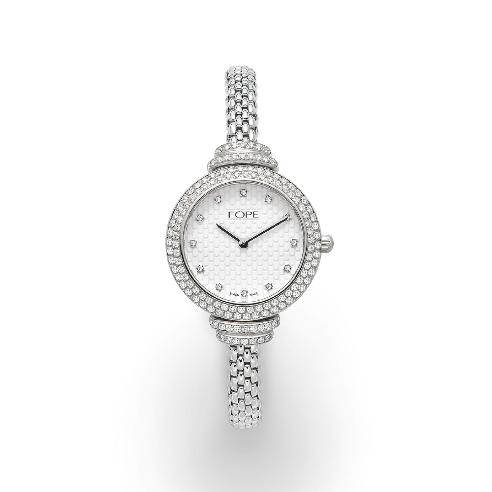 Fope Flex'It Watch With Diamonds