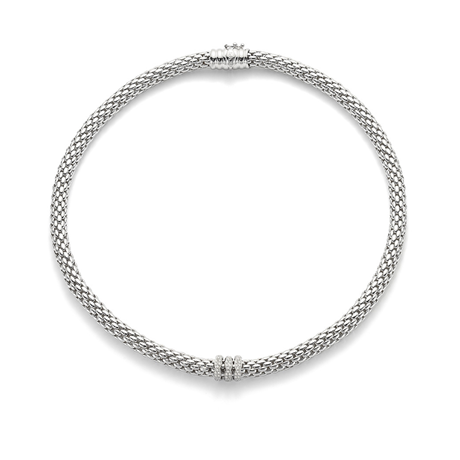 Fope LoveNest Diamond Necklace