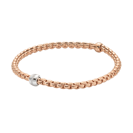 Fope Flex'it Eka Tiny Diamond Bracelet