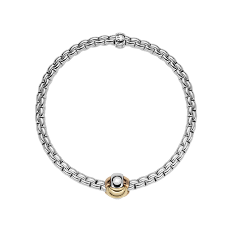 Fope 18ct White Gold EKA Tiny Bracelet