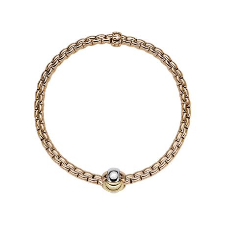 Fope 18ct Rose Gold EKA Tiny Bracelet