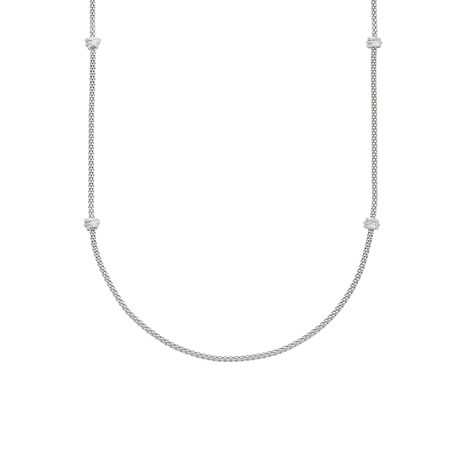 Fope 18ct White Gold Flex'it Prima Necklace