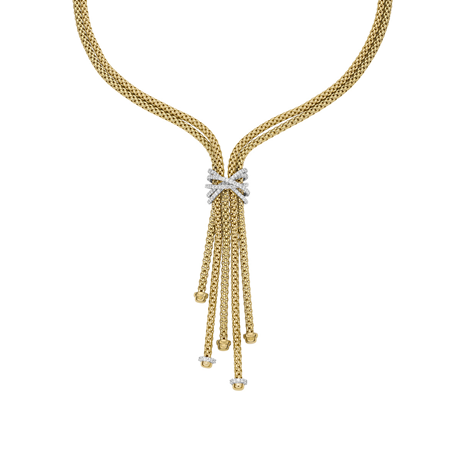 Fope 18ct Yellow Gold Prima MiaLuce Necklace