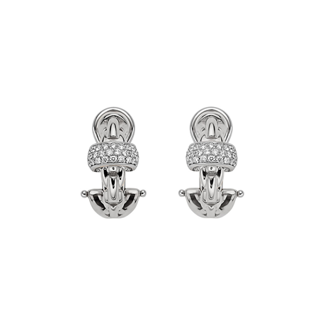 Fope 18ct White Gold EKA Earrings