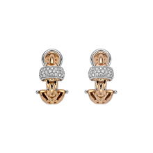 Fope 18ct Rose & White Gold EKA Earrings